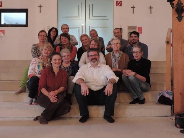 Gruppenfoto - Haus der Stille